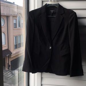 Black Talbots pencil skirt Talbots suit